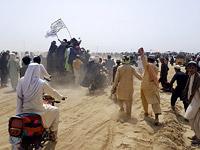 Талибы и их сторонники в районе афгано-пакистанской границы. 14 июля 2021 года