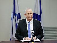 """Ганц: """"Мы не позволим превратить кризис в Ливане в угрозу нашей безопасности"""""""