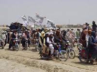 """Сторонники """"Талибана"""" на афгано-пакистанской границе"""
