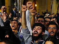"""Манифестанты в Тегеране скандируют: """"Смерть диктатору!"""""""