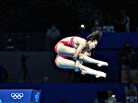 Олимпиада. Прыжки в воду. Золото завоевали китаянки