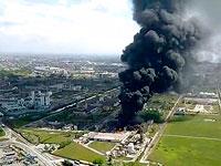 Мощный взрыв на мусороперерабатывающем заводе в Германии