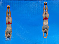 Олимпиада. Прыжки в воду. Победили китайцы. Россияне на восьмом месте