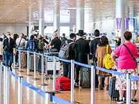 Управление аэропортами: за сутки за границу вылетят 37 тысяч израильтян
