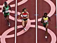 Олимпиада. Легкая атлетика. Израильтянка Диана Вайсман в полуфинал не вышла