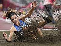 Олимпиада. Легкая атлетика.  Израильтянка Анна Князева-Миненко вышла в финал