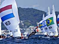 Олимпиада. 470. Израильтянки вышли в медальную гонку