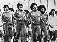 Тренировка сборной Мексики на чемпионате мира 1978 года