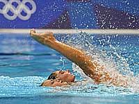 Греческие синхронистки на олимпиаде в Токио