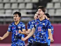 Олимпиада. Футбол. Японцы вышли в полуфинал, победив новозеландцев в серии пенальти