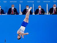 Израильский гимнаст Артем Долгопят стал олимпийским чемпионом в вольных упражнениях