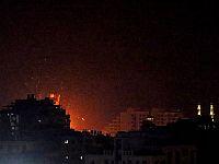 """ВВС ЦАХАЛа атаковали объекты ХАМАСа в Газе в ответ на """"огненный террор"""""""
