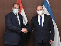 Нафтали Беннет встретился с главой египетской разведки Аббасом Камалем