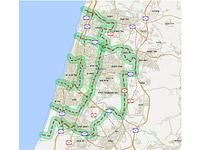 Минфин представил карту и план введения платы за въезд в Гуш-Дан в часы пик