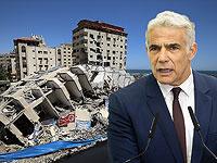 """Яир Лапид представил план восстановления Газы """"экономика в обмен на безопасность"""""""
