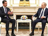 В Кремле прошли переговоры Путина и Асада