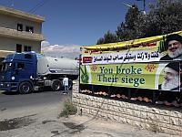 В Ливан пришел первый конвой иранского топлива из Сирии