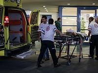 48-летний житель Петах-Тиквы госпитализирован в тяжелом состоянии в результате падения со стремянки
