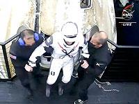 Экипаж космических туристов вернулся на Землю после трех суток на орбите