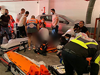 Еще одной жертвой ДТП на подземной парковке в Холоне стала иностранная гражданка