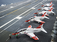 В Техасе самолет военно-морского училища упал на жилой квартал