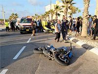 В результате ДТП в Акко тяжело травмирован мотоциклист