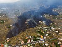 Извержение вулкана на Канарах привело к уничтожению более 100 жилых домов