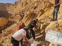 Во время похода по руслу ручья Ямин туристы обнаружили скелет человека
