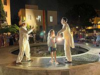 Необыкновенное представление  TLV Street Show в праздник Суккот
