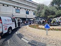 В Иерусалиме грузовик сбил пожилую женщину, пострадавшая в тяжелом состоянии