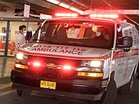 В Лоде в результате обрушения лифта пострадал мужчина
