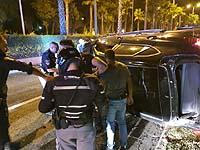 Двое жителей Кирьят-Аты задержаны в Хайфе по подозрению в наезде на сотрудников полиции