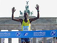 Берлинский марафон. Победил эфиоп Гуйе Адола. Израильтянин на 12-м месте