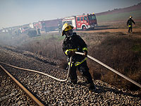 Приостановлено движение поездов между Бейт-Шеаном и Атлитом