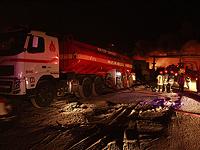 """Пожар на одном из объектов """"Корпуса стражей исламской революции"""" в Тегеране"""