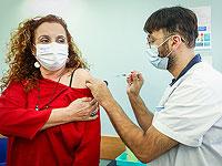 """Вакцинация против коронавируса в Израиле: """"бустерную"""" прививку получили 35% населения страны"""