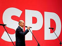 Лидер социал-демократической партии Германии Олаф Шольц