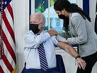 Джо Байден сделал прививку бустерной дозой вакцины от коронавируса