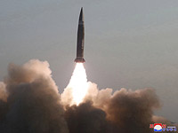 """Северная Корея """"отметила"""" выступление своего представителя в ООН запуском баллистической ракеты"""