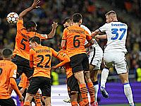Шахтер (Донецк, Украина) - Интер (Милан, Италия) 0:0