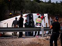 ДТП с участием автобуса с детьми на 89-м шоссе: пятеро погибших, более 50 раненых