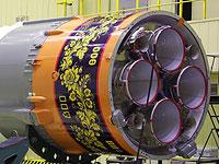 Россия запустит в космос ракету, раскрашенную под хохлому