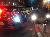 В Тель-Авиве автомобиль сбил женщину с детской коляской