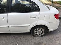 """В арабской деревне Марда повреждены автомобили, рядом на стенах нарисованы """"звезды Давида"""""""