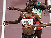 Олимпиада в Токио.  Агнес Джебет Тироп