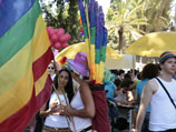 """""""Парад гордости"""" в Тель-Авиве. Июнь 2009 года"""