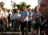 """Трагедия """"Дольфи"""": в Тель-Авиве состоялся ежегодный траурный митинг"""