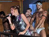 Кайли Миноуг в Splash Bar. Нью-Йорк, 4 июня 2010 года