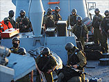 Бойцы спецназа 13-й флотилии ВМС ЦАХАЛа