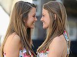 В Лондоне выбирали близнецов, похожих друг на друга как две части шоколадки. ФОТО